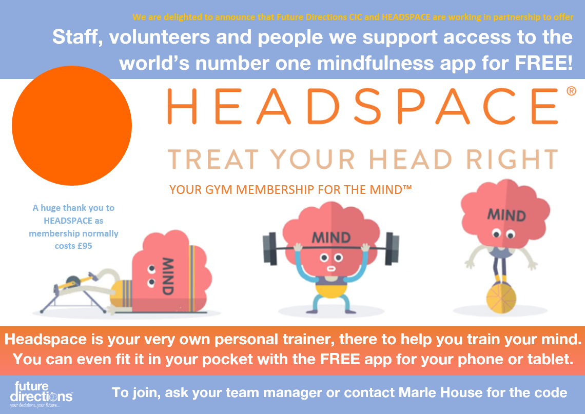 Join HEADSPACE today for FREE!
