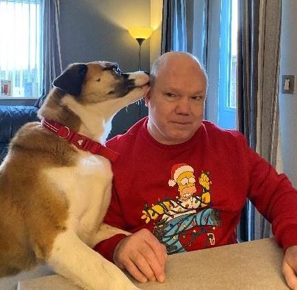 Bob and a dog