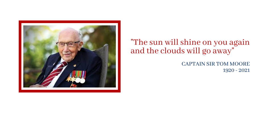 Captain Sir Tom Moore: An Inspiration: Paula's Message (4th February 2021)