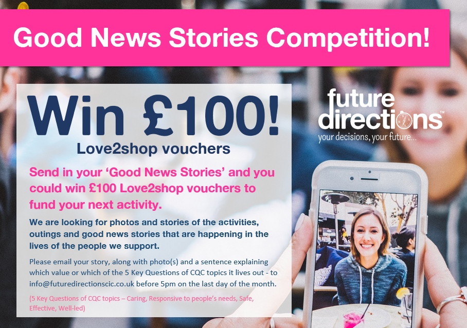 Voting Now Open for June and July's Good News Story Competition