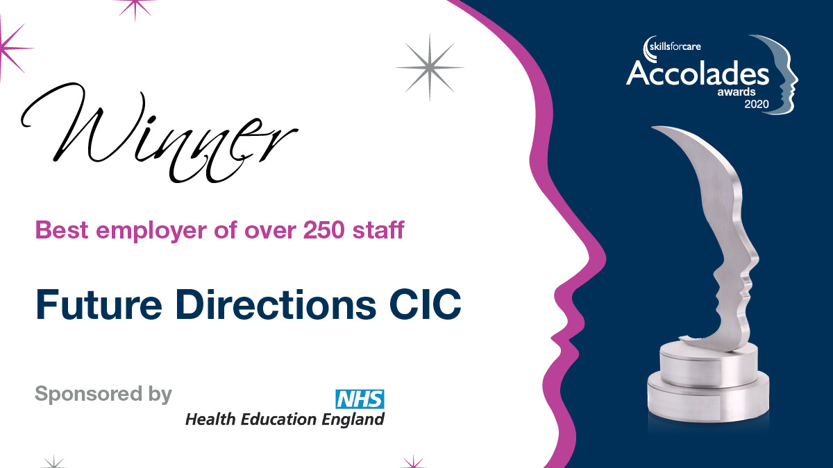 Future Directions CIC won 'Best Employer of over 250 staff' Award