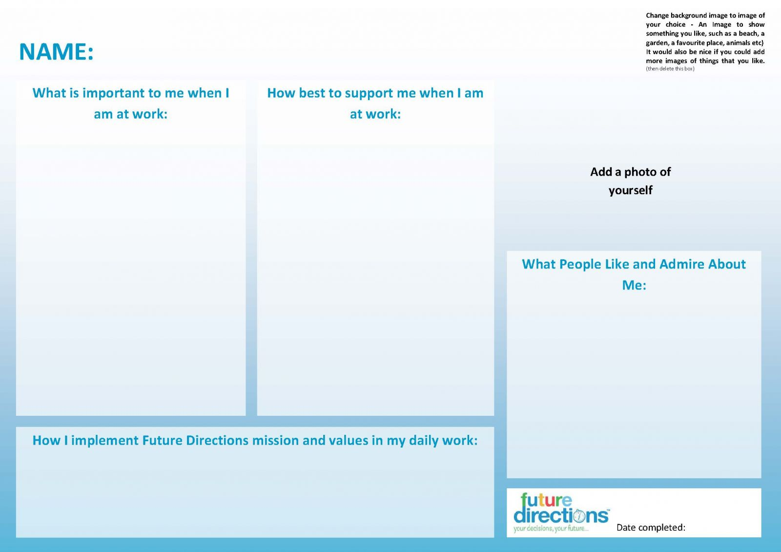one page profiles brilliant stuff future directions cic social