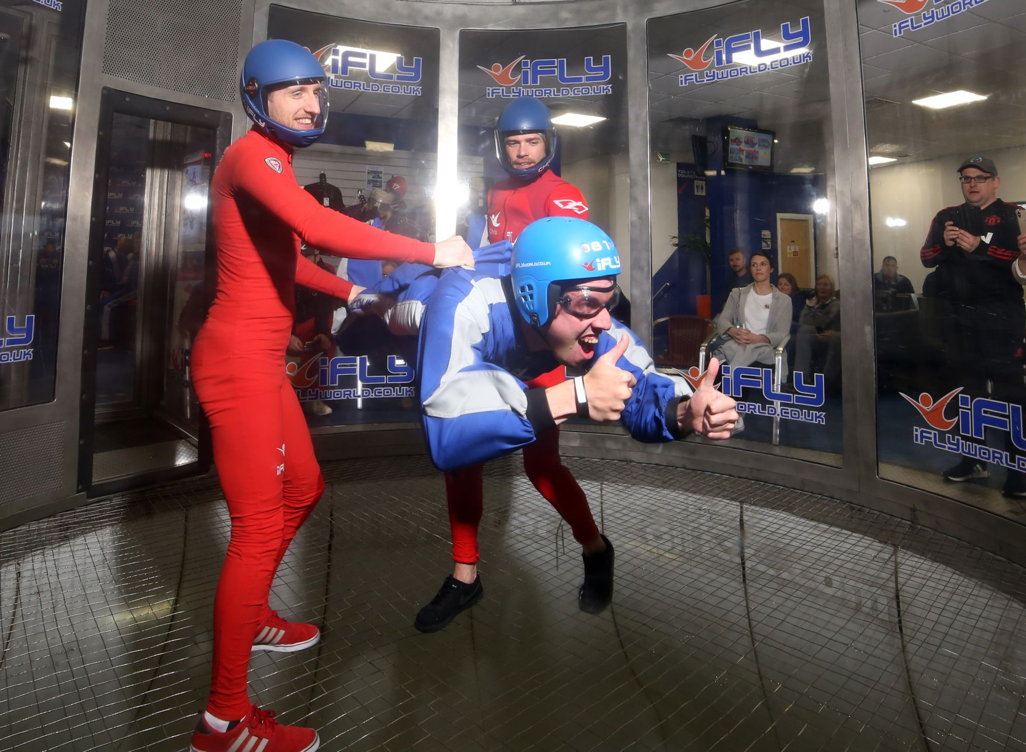 Fantastic Indoor Skydiving at iFly!