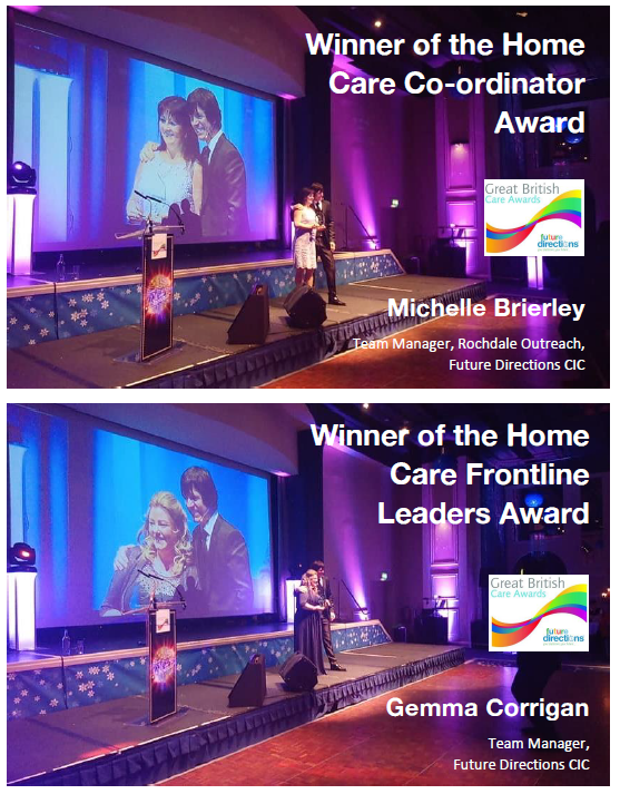 Great British Care Awards Winners!